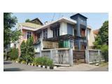 Rumah hoek Puloasem 250m, 2 lantai, lokasi bagus