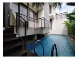Dijual Rumah Minimalis di Cilandak - 4 Bedroom Kondisi Un Furnished With Private Pool By Sava Jakarta Properti HSE-A0590